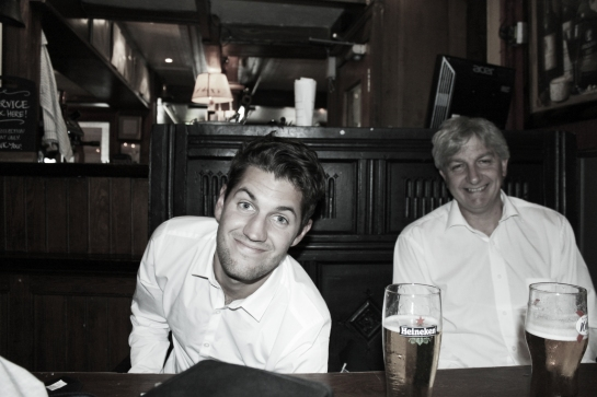 Taken in the Fiddler's Elbow, Brighton. Check it out.