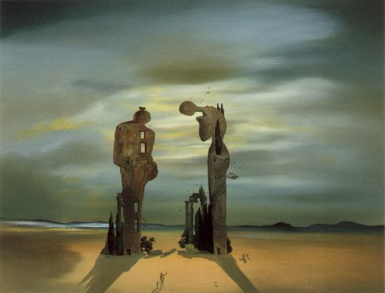 Reminiscenza archaeologic by Salvador Dali (1935).