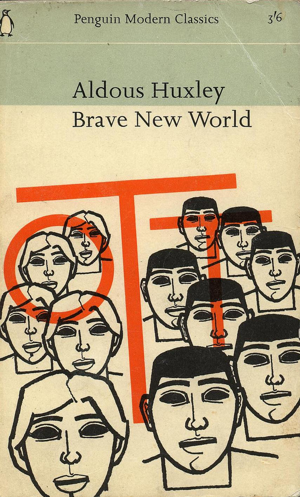 an analysis of the political satire in brave new world by aldous huxley Brave new world, written by aldous huxley is a utopian novel that uses satire to a great extent brave new world takes place in the future, where people.