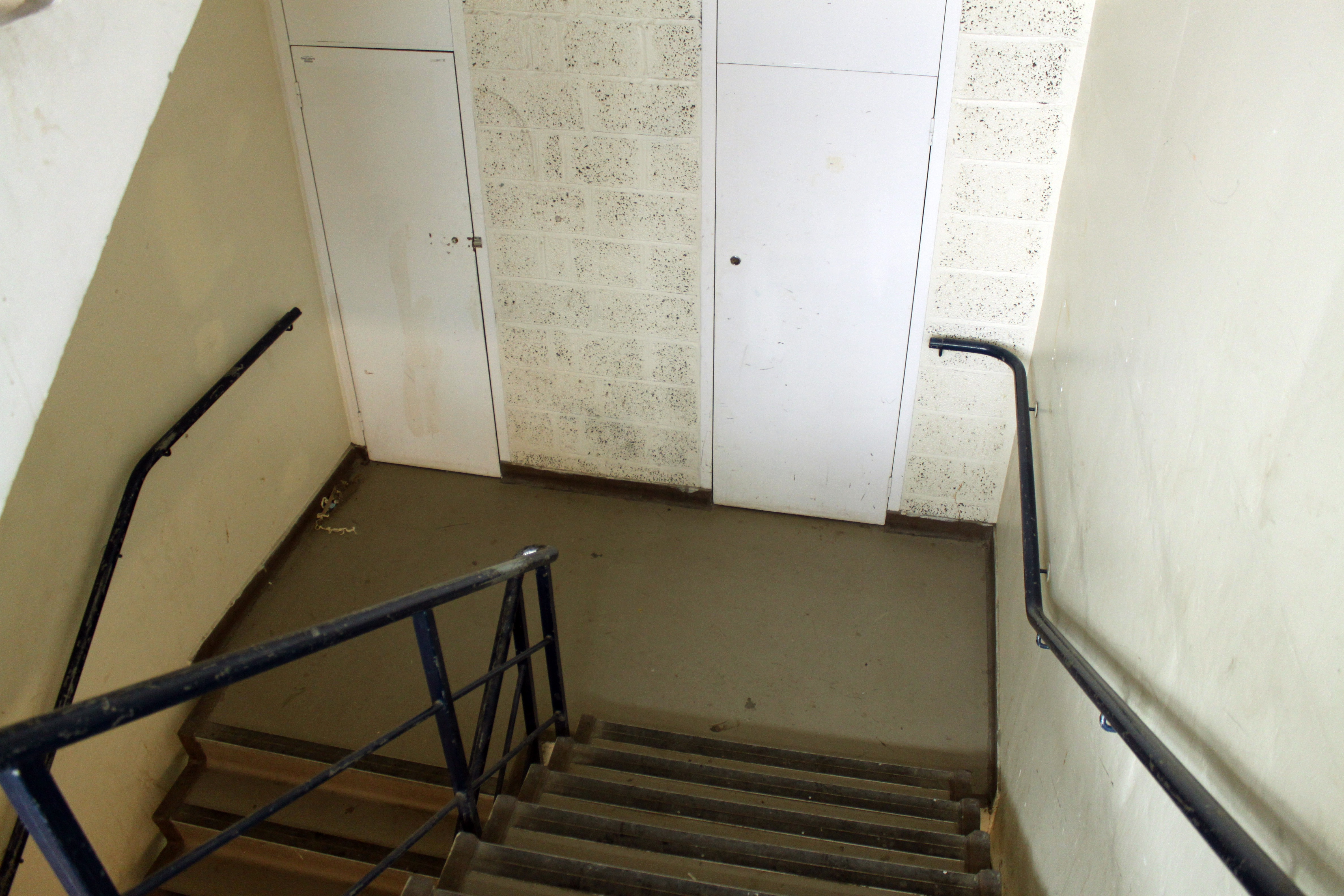 or there are the stairs for the more active or those wanting a bit of