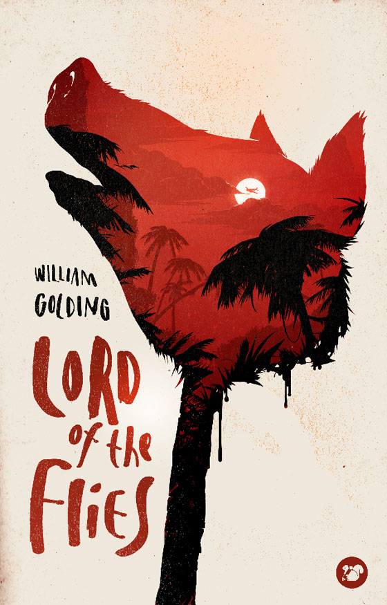 Cool Book Cover Art : Lord of the flies w golding nicholasjparr