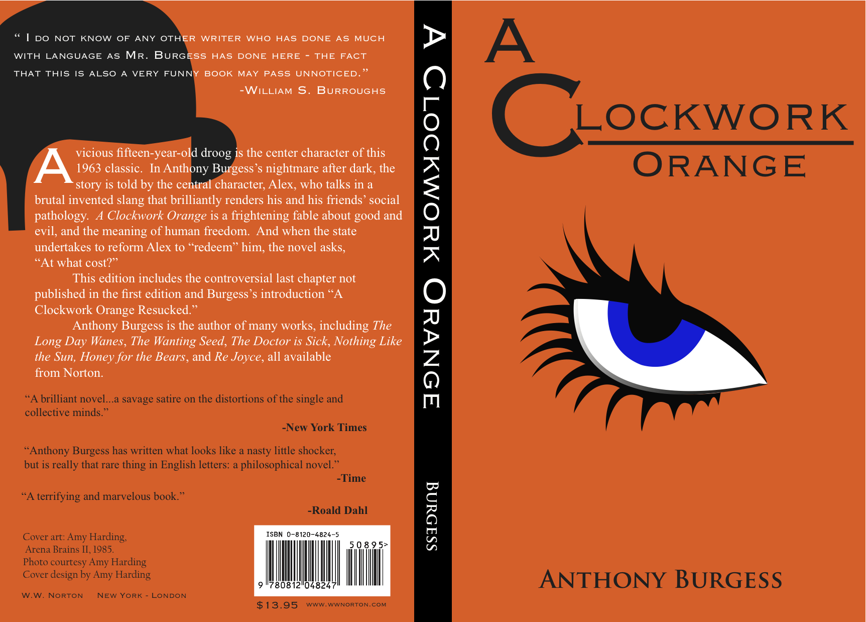 an analysis of the novel the clockwork orange by anthony burgess Complete summary of anthony burgess' a clockwork orange enotes plot summaries cover all the significant action of a clockwork orange.