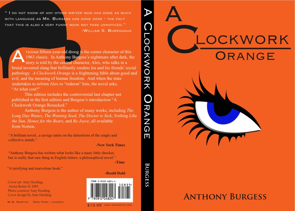 a clockwork orange essay Disclaimer: this essay has been submitted by a student this is not an example of the work written by our professional essay writers you can view samples of our professional work here any opinions, findings, conclusions or recommendations expressed in this material are those of the authors and do.