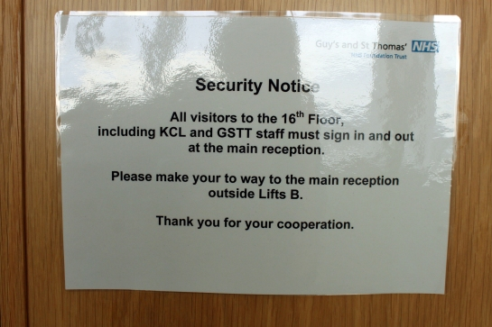 A Security Notice.