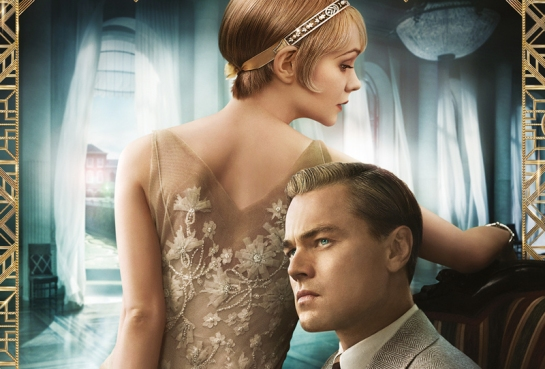 Leonardo Di Caprio and Carey Mulligan as Gatsby and Daisy in Luhrman's 2013 adaptation.